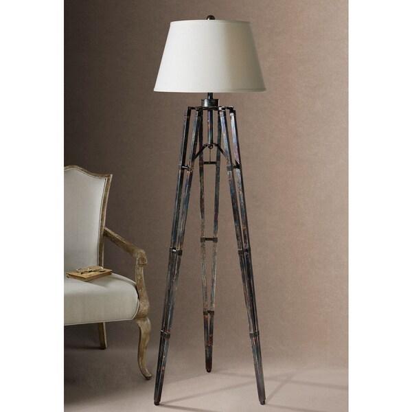 Uttermost Tustin Rustic Tripod Floor Lamp