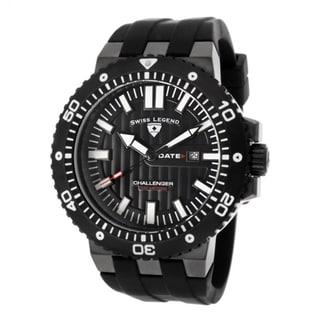 Swiss Legend Men's Challenger Black Textured Watch SL-10126-GM-01-BB