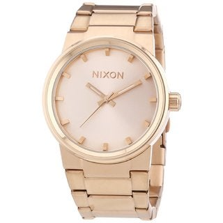 Nixon Men's A160-897 Cannon All Rose Gold Watch