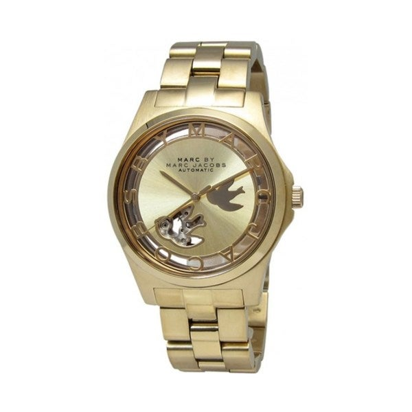 Marc Jacobs Women's MBM9709 Henry Icon Gold Watch