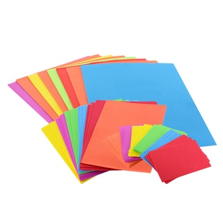 Foam Sheets for Crafts 50-pack (Assorted Colors/ Sizes)