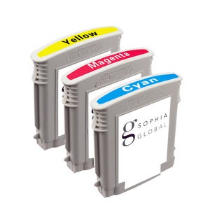 Sophia Global Remanufactured Ink Cartridge Replacement for HP 940XL with Ink Level Display (Pack of 3) (Refurbished)