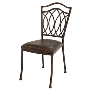 Westport Roletta Brown Upholstered Side Chair