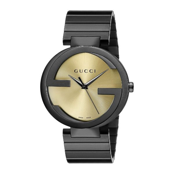 Gucci Men's YA133209 'Grammy XL Awards' Black Stainless Steel Special Edition Watch