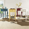 Shemar 1-drawer Flared Legs Accent Table with Shelf