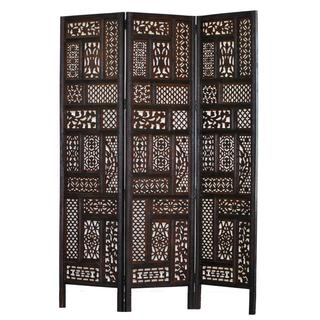 Hemmingway 3-panel Wood Screen