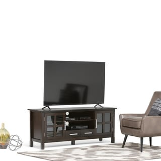 Waterloo Dark Walnut Brown TV Stand
