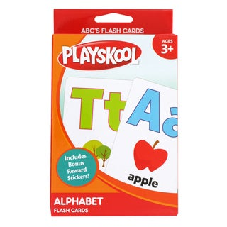 Playskool Ages 3+ Pre-K 'Alphabet' Flash Cards (36 Cards)