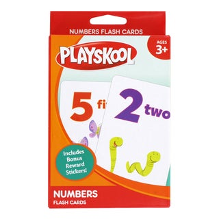 "Playskool Ages 3+ Pre-K 'Numbers"" Flash Cards, 36 Cards"