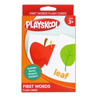 Playskool Ages 3+ Pre-K 'First Words' Flash Cards (36 Cards)