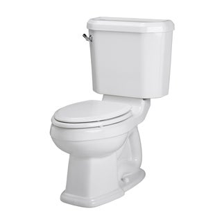 Portsmouth Champion 4 Two-piece 1.6 GPF Right White Height Elongated Toilet