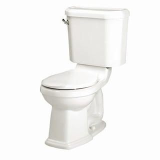 Portsmouth Champion 4 Two-piece 1.6 GPF Right Height White Round Toilet