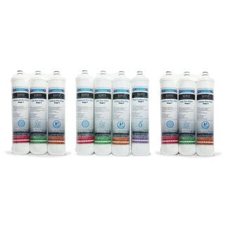 BOANN 18 Month Filter Pack for Reverse Osmosis (RO) Water Filtration System
