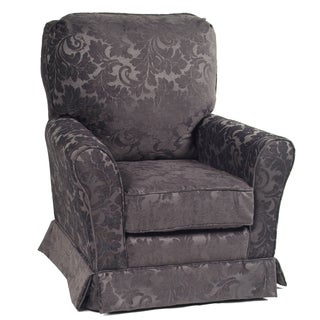 Little Castle's Jolie Santiago Graphite Swivel Glider