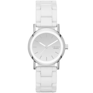 DKNY Women's NY8895 White Ceramic Bracelet Watch