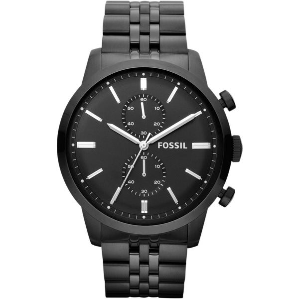 Fossil Men's FS4787 Townsman Chronograph Black Watch