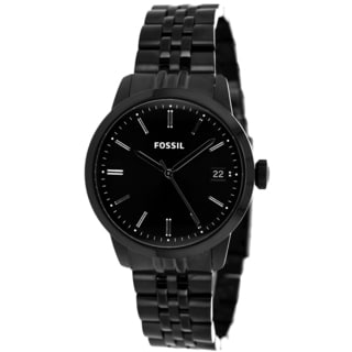 Fossil Men's FS4820 Townsman Black Ion Plated Watch