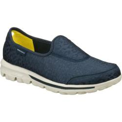 Women's Skechers GOwalk Safari Navy