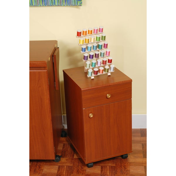 Suzi Cherry Sewing Machine Accessory Four-drawer Storage Cabinet