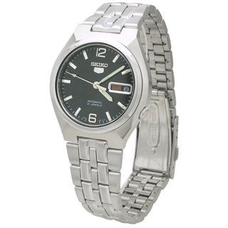 Seiko Men's 5 Silvertone Watch SNKL61K1