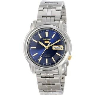 Seiko Men's 5 Silvertone Watch SNKL79K1