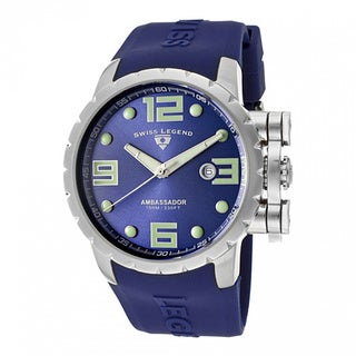 Swiss Legend Men's Ambassador Purple Watch SL-30021-03