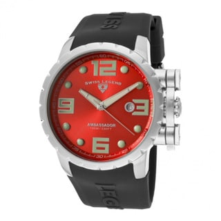 Swiss Legend Men's Ambassador Red Watch SL-30021-05