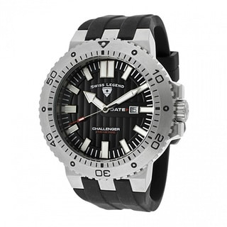 Swiss Legend Men's Challenger Black Watch SL-10126-01