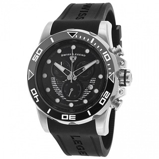 Swiss Legend Men's Avalanche Black Watch SL-21368-01-GRYAB
