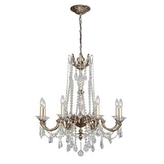 Delancey 8-light Roman Bronze Chandelier