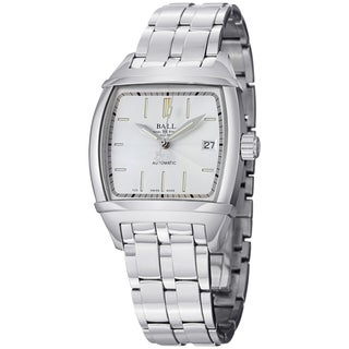 Ball Men's NM1068-SJ-WH 'Conductor Classic' Silver Dial Stainless Steel Watch