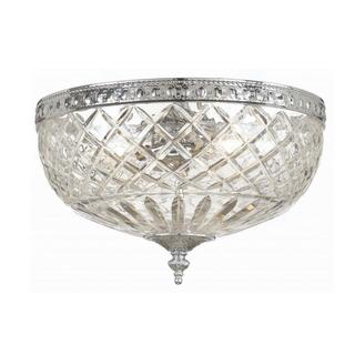 Richmond Chrome Flush Mount Ceiling Light