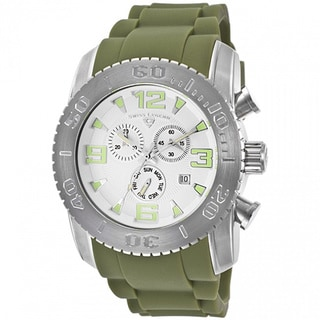 Swiss Legend Men's Commander White Watch SL-10067-02-MGRS