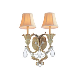 Winslow 2-light Wall Sconce in Champagne