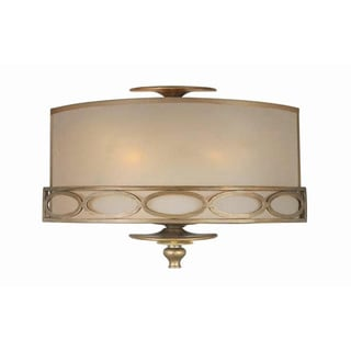 Traditional 2-light Wall Sconce in Antique Brass