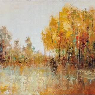 Trees of Fall I' Canvas Art