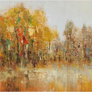 Trees of Fall II' Canvas Art