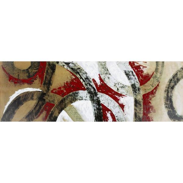 Slash II' Canvas Art