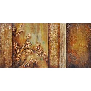 Traditional Floral and Stem I' Wall Art