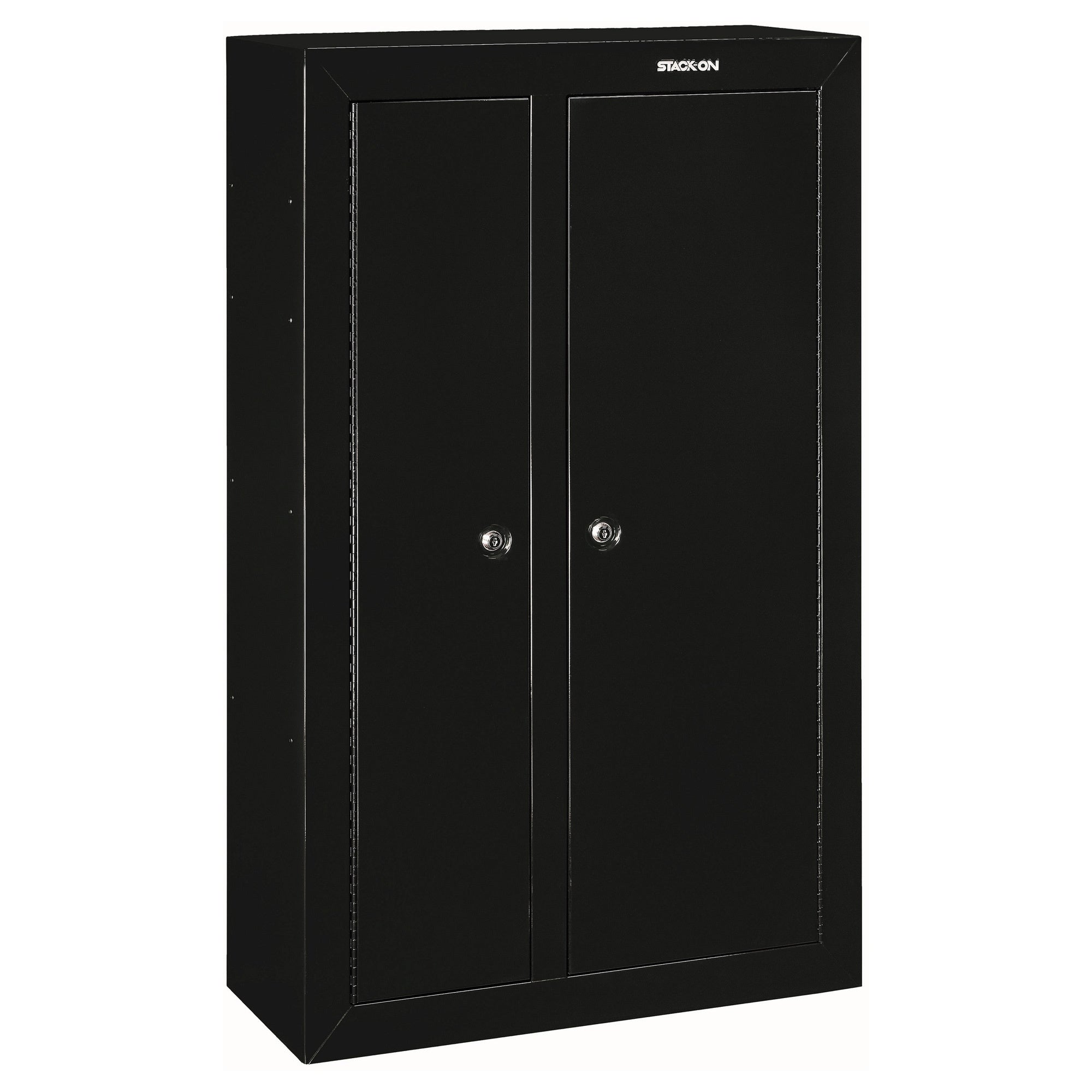 Featured for 10 gun double door steel security cabinet
