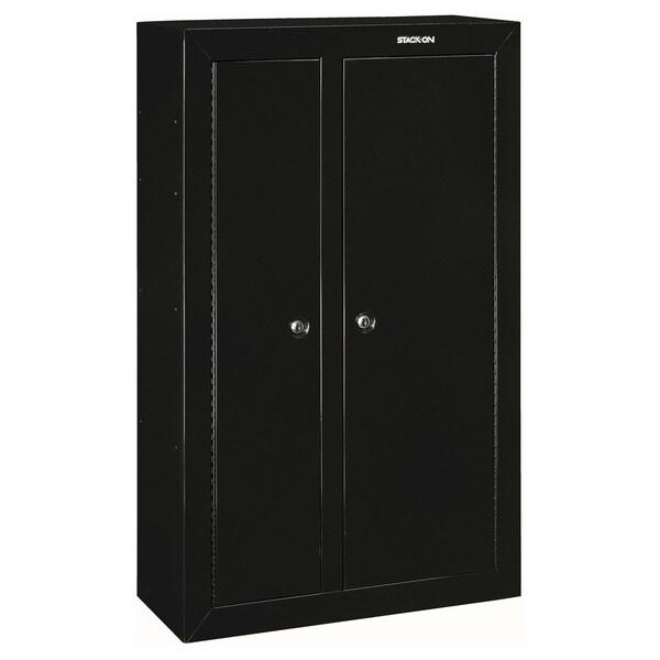 Stack-On 10 Gun Double Door Steel Security Cabinet