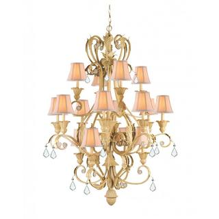 Winslow 16-light Chandelier in Champagne finish