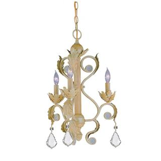 Winslow Champagne 3-light Chandelier