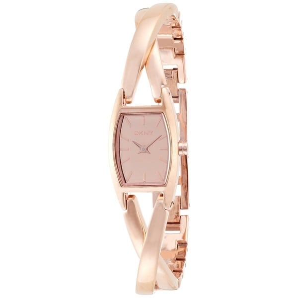 DKNY Women's NY8874 Crossover Rose Gold Watch