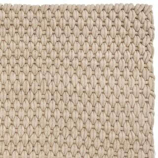 Safavieh Hand-woven Manhattan Beige Wool Rug (4' x 6')