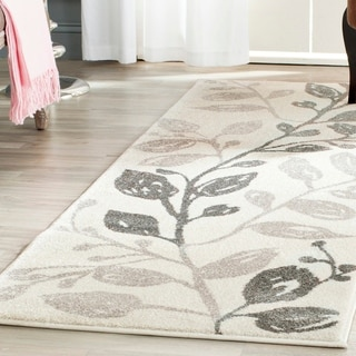 Safavieh Porcello Ivory/ Green Rug (4' x 5'7)