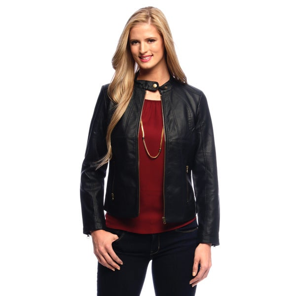 Live a Little Women's Zip Pocket and Zip Front Jacket