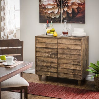Venetian Natural Burn Finish Buffet