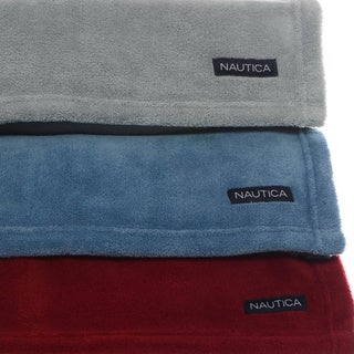 Nautica Microfleece Anti-pill Blanket