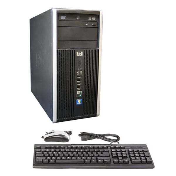 HP Compaq 6005 AMD Athlon II x2 3.0GHz 4GB 250GB DVDRW Microsoft Windows 7 Professional (64-bit) TW Computer(Refurbished)